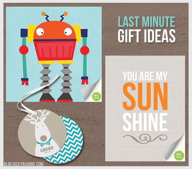 Last Minute Gift Ideas 2012