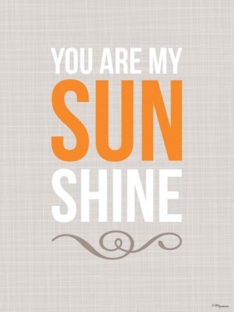 You Are My Sunshine Wall Decal - Vicky Barone