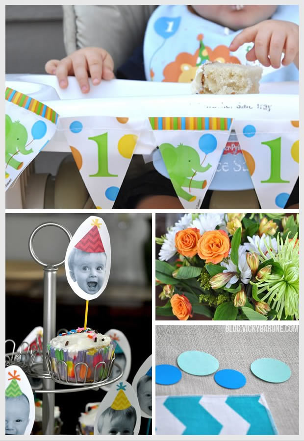 First Birthday Party Vicky Barone