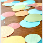 Circle Birthday Party Garland