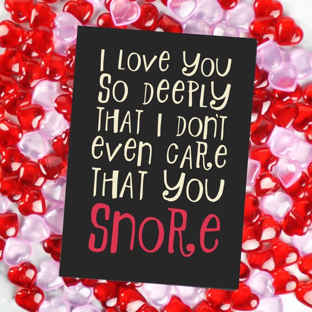 True love Tag your snoring sweetie in the comments! Andhellip