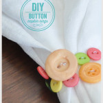 DIY Button Napkin Rings