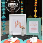 End Of Summer Party Featuring New Art Prints