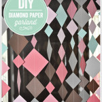 DIY Diamond Paper Garland