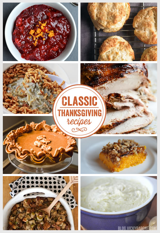Things I Love: Classic Thanksgiving Recipes