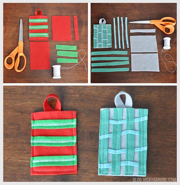 Diy Christmas Gift Card Holder: DIY Felt Gift Card Holders