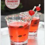 Pear & Cranberry Holiday Cocktail