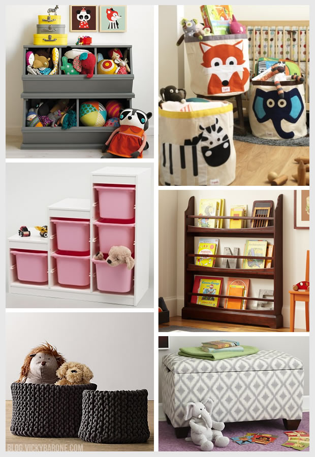 Things I Love Children 39 S Storage Solutions Vicky Barone