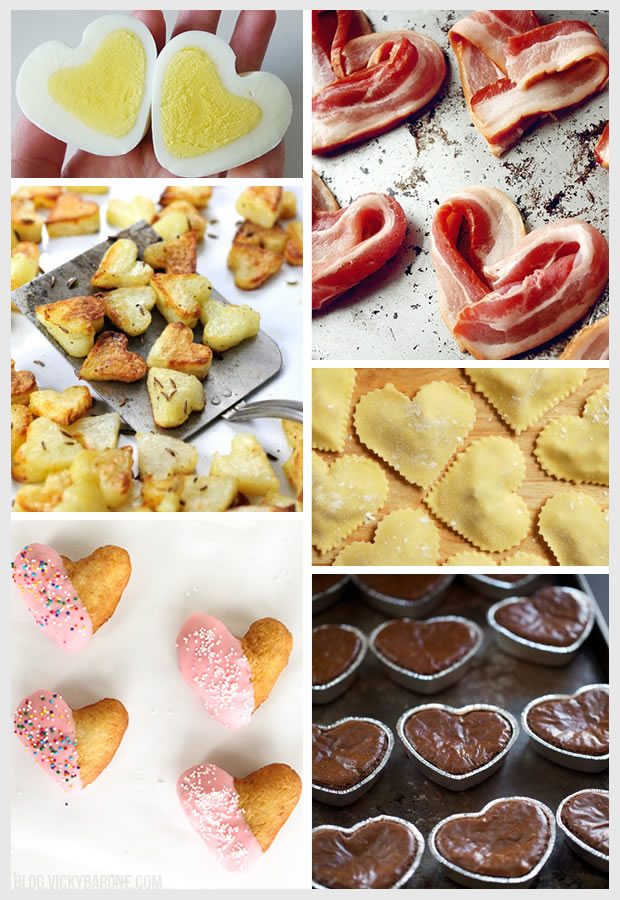 Things I Love: Heart-Shaped Food | Vicky Barone | Valentine's Day