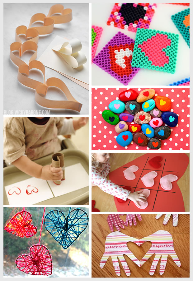 Things I Love: Valentine's Day Crafts for Kids | Vicky Barone
