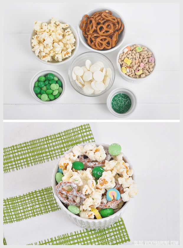 St. Patrick's Day Snack Mix | Vicky Barone