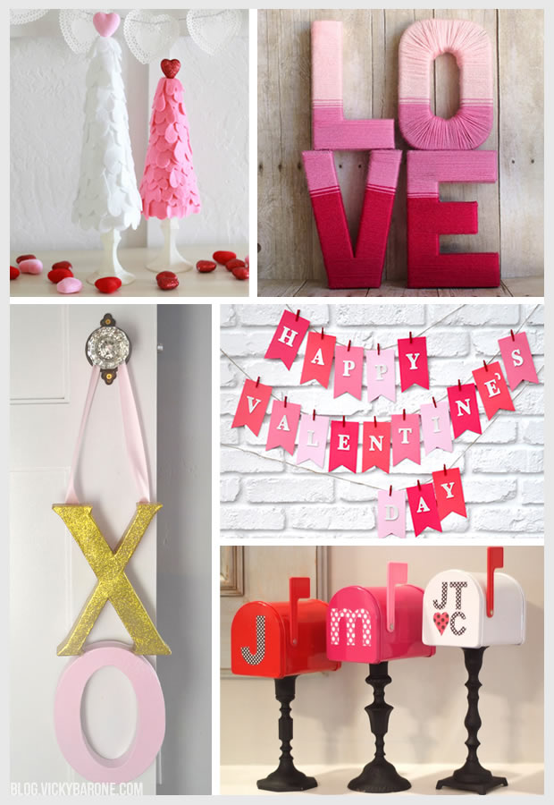 Things I Love DIY Valentines Day Decor Vicky Barone