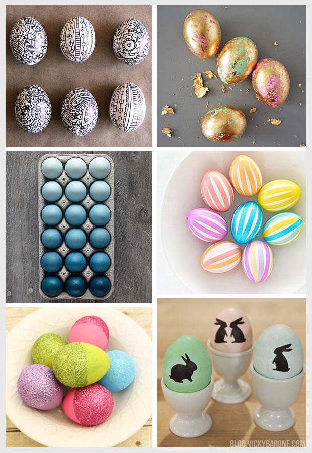 Modern Easter Eggs | Vicky Barone