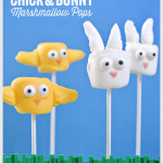 Chick & Bunny Marshmallow Pops