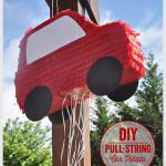 DIY Pull-String Car Piñata