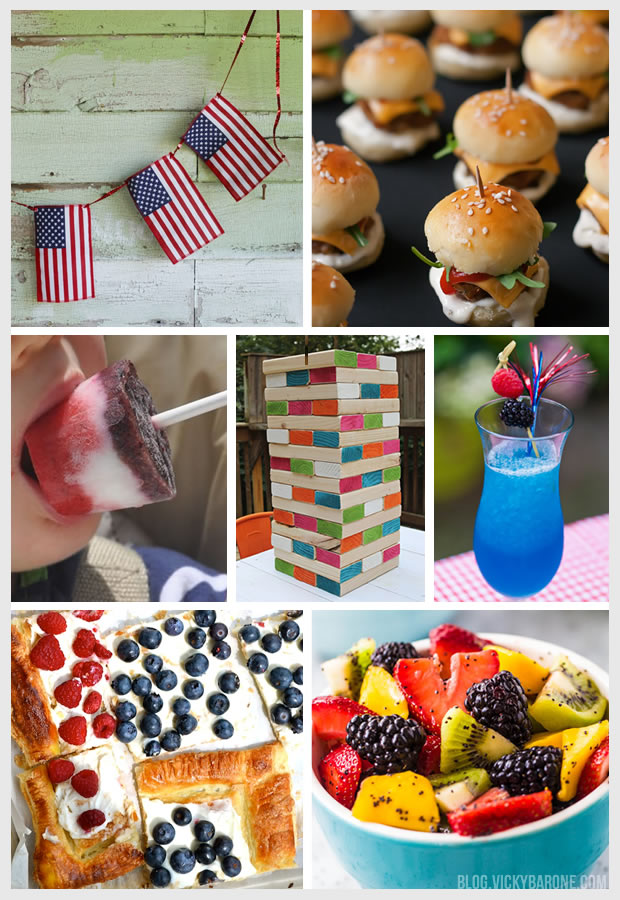 Memorial Day Food, Drinks, and Decor Ideas | Vicky Barone