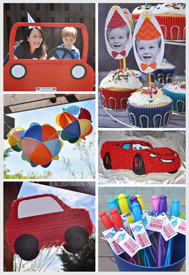 Racecar Birthday Party | Vicky Barone