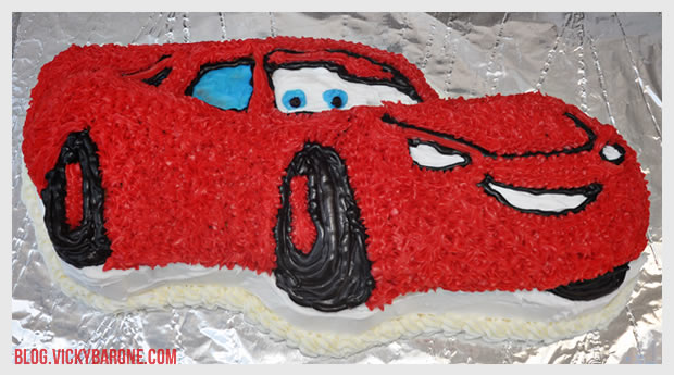 Cars Birthday Cake Vicky Barone