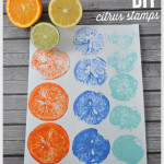 DIY Citrus Stamps