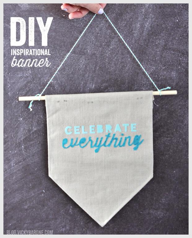 Diy Inspirational Banner Vicky Barone