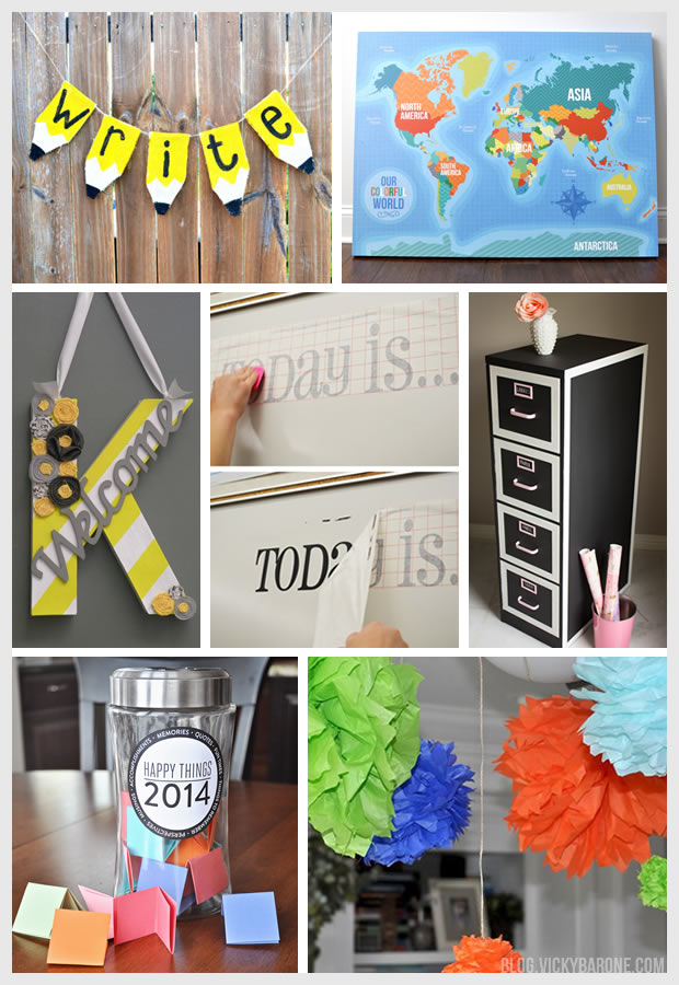 Classroom Decoration Ideas For Back To School ~ Back to school classroom decor vicky barone