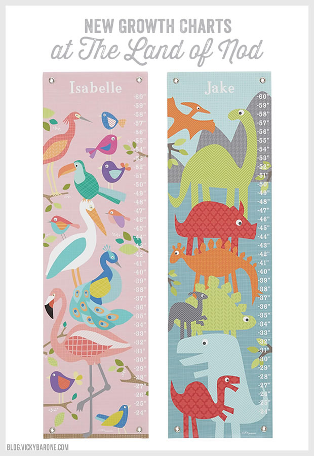 New growth charts at the land of nod vicky barone for Land of nod recipe