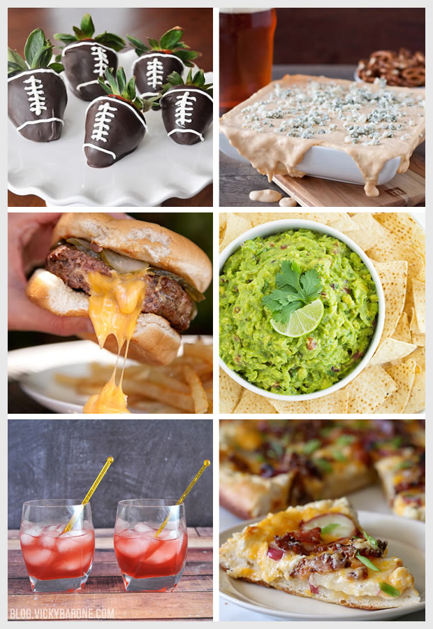 Game Day Food Ideas | Vicky Barone