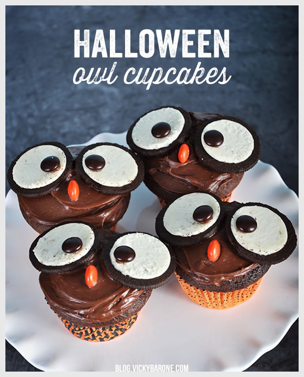 Owl Cupcakes | Vicky Barone