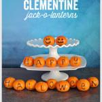 Clementine Jack-o-Lanterns