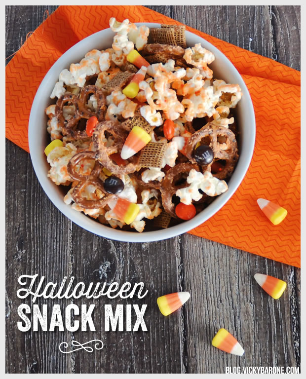 Halloween Snack Mix | Vicky Barone