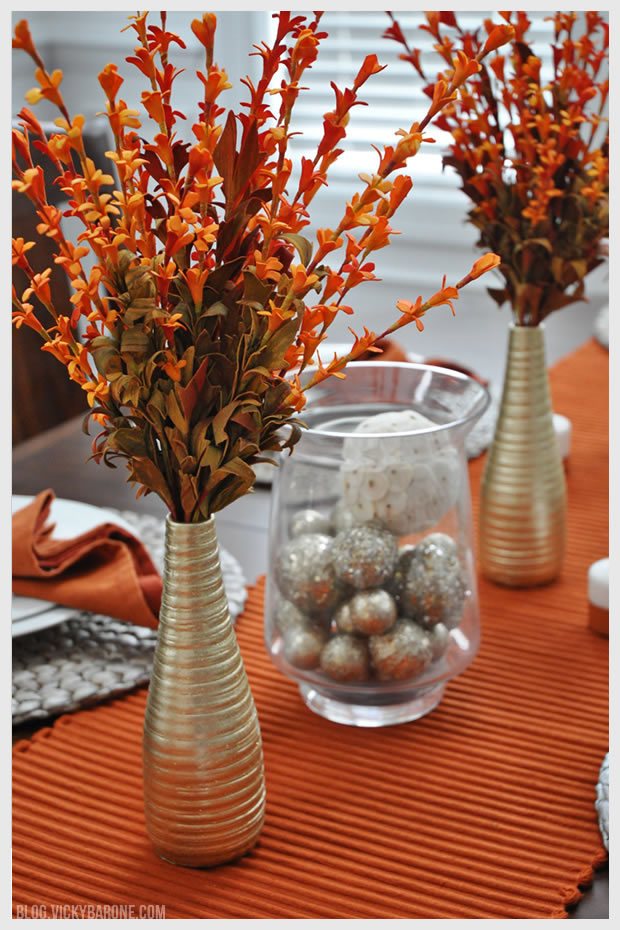Thanksgiving Table Setting 2014 Vicky Barone