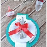 Christmas Table Setting 2014
