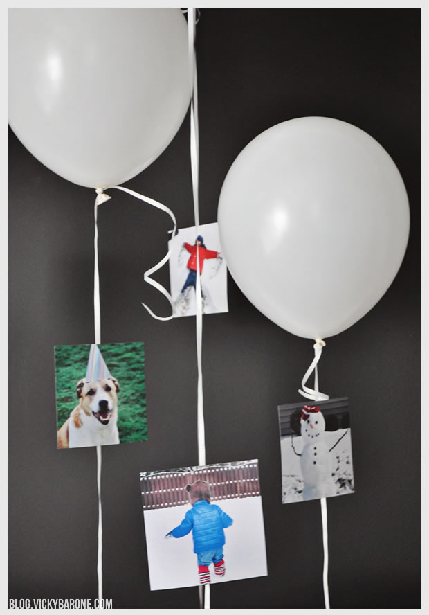 New Year's Eve Memory Balloons | Vicky Barone