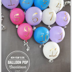 New Year's Eve Balloon Pop Countdown