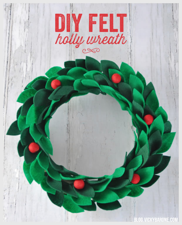 10 Best Christmas Holly Crafts