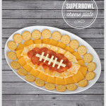 Football-Shaped Superbowl Food