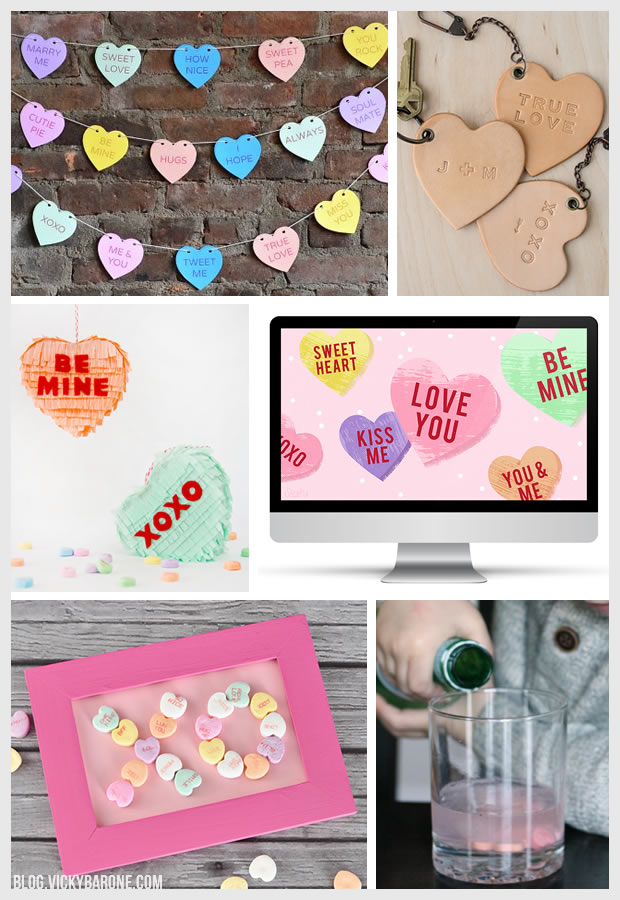 Things I Love: Conversation Hearts | Vicky Barone