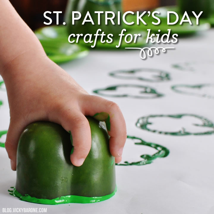 Things I Love: St. Patrick's Day Crafts for Kids | Vicky Barone