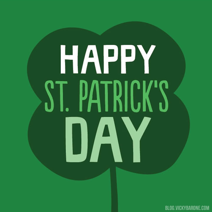 Happy St. Patrick's Day 2015 | Vicky Barone