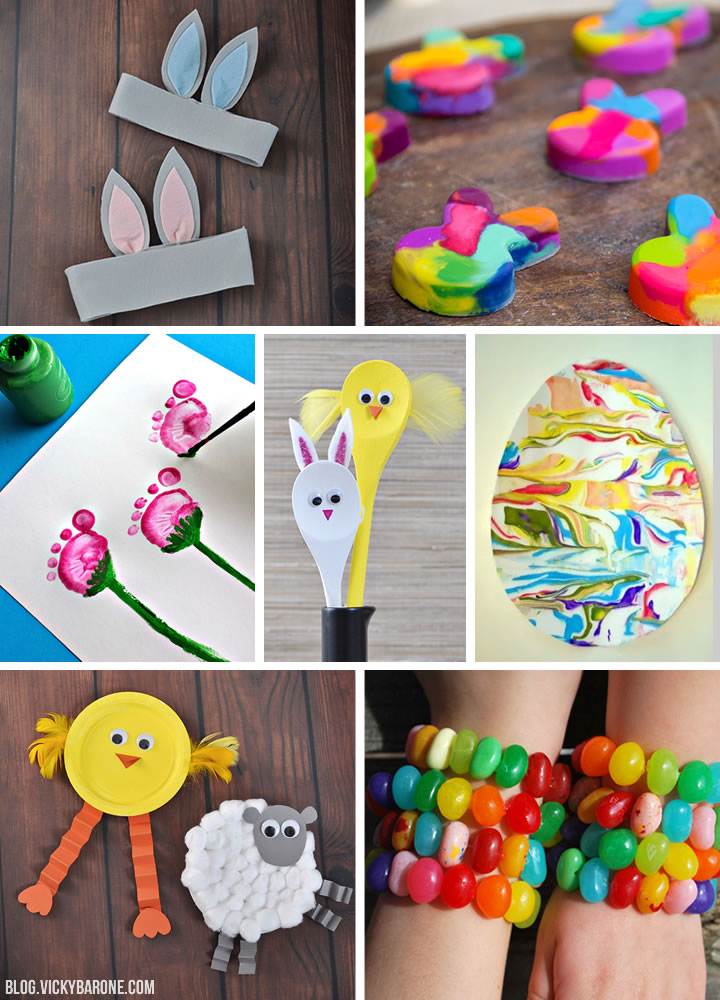 Things I Love: Easter Crafts for Kids | Vicky Barone
