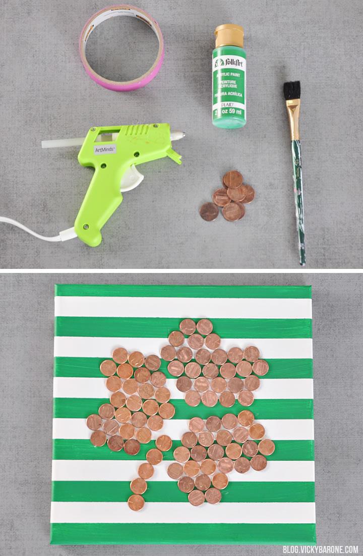 Lucky Penny Wall Art | Vicky Barone