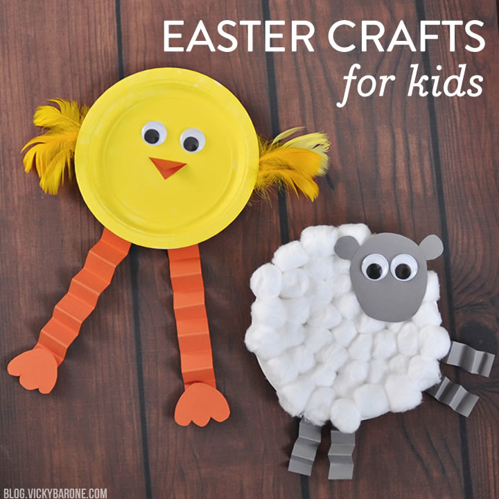 Things I Love Easter Crafts For Kids Vicky Barone