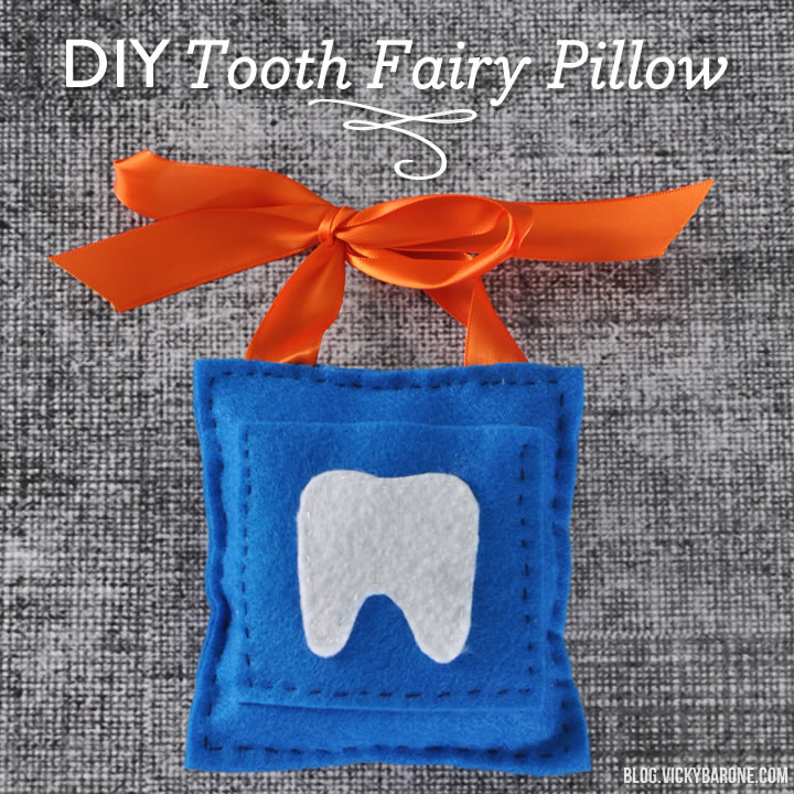 DIY Tooth Fairy Pillow | Vicky Barone