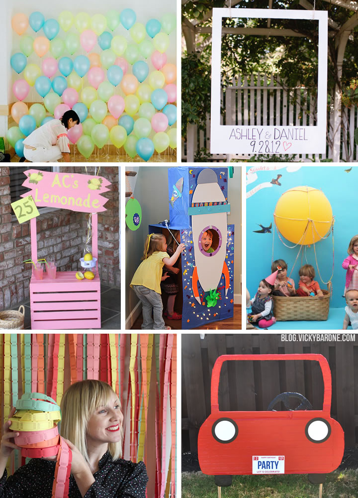 diy photo booth ideas vicky barone