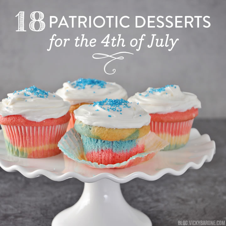 18 Patriotic Desserts for the 4th of July | Vicky Barone