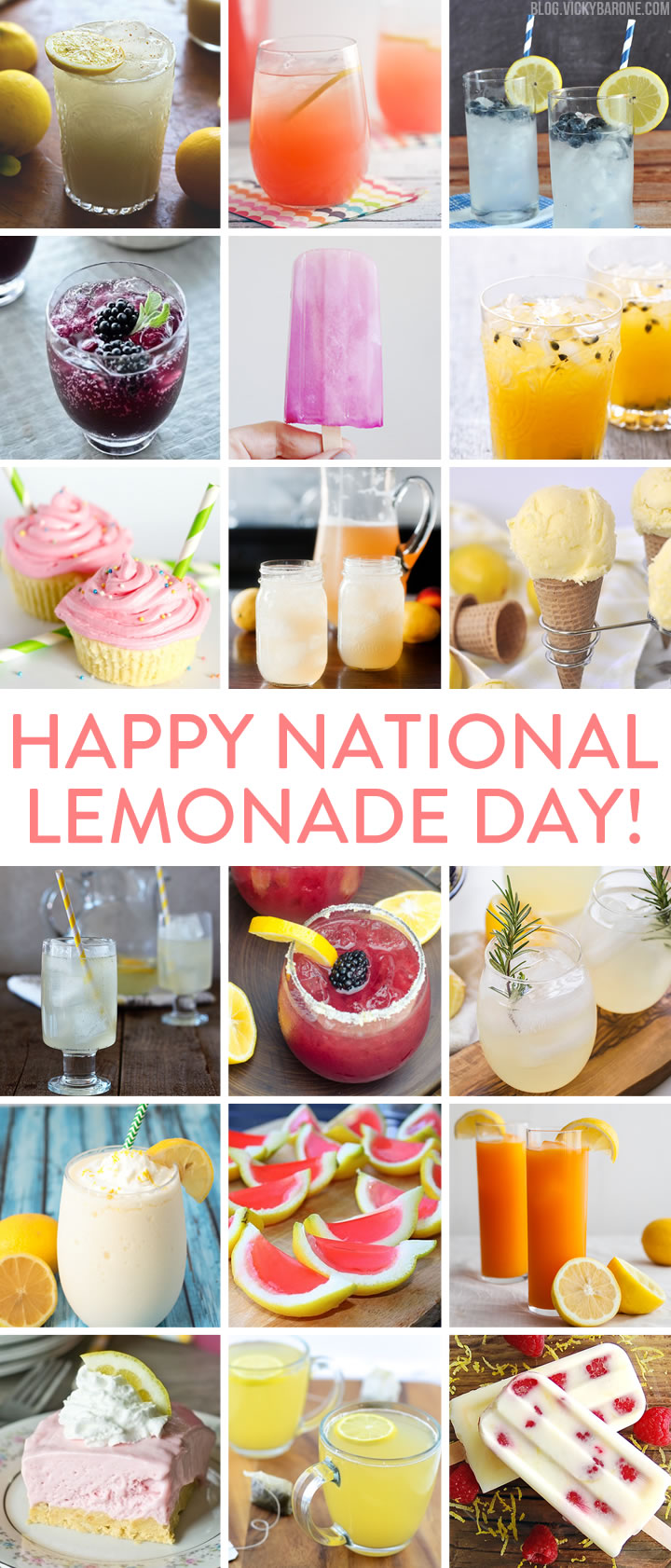 National Lemonade Day | Vicky Barone