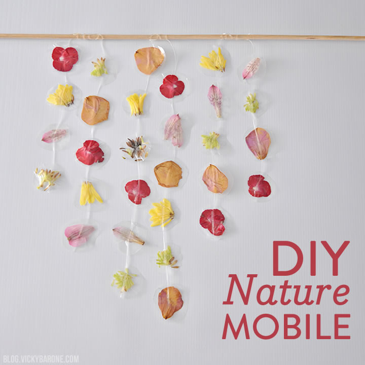 DIY Nature Mobile | Vicky Barone