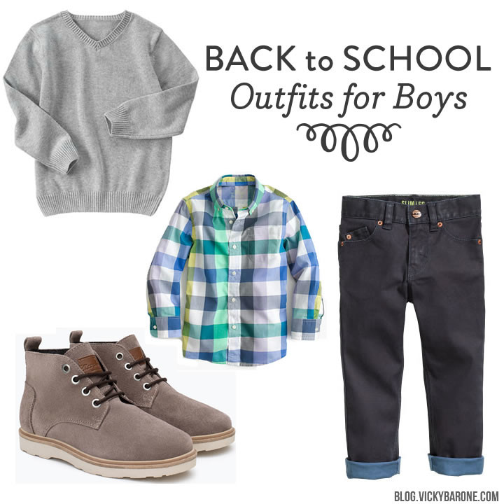 Back to School  Outfits for Boys - Vicky Barone