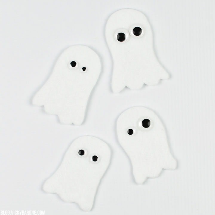 DIY Finger Puppet Ghosts   Vicky Barone
