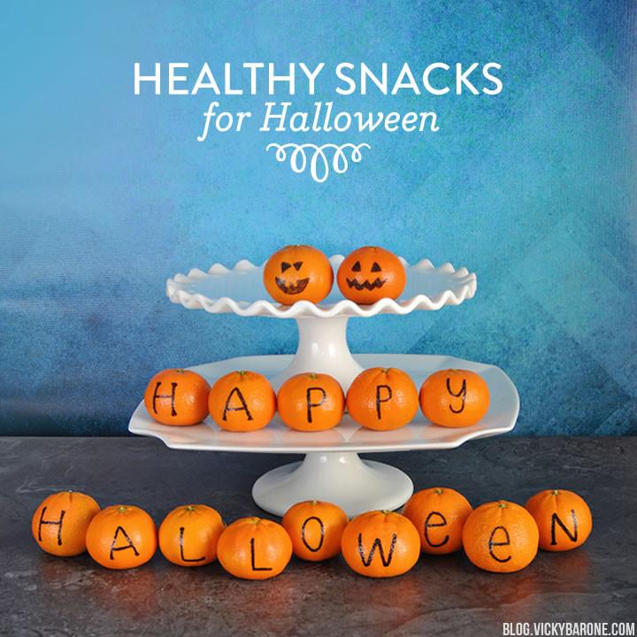 Healthy Halloween Snacks | Vicky Barone